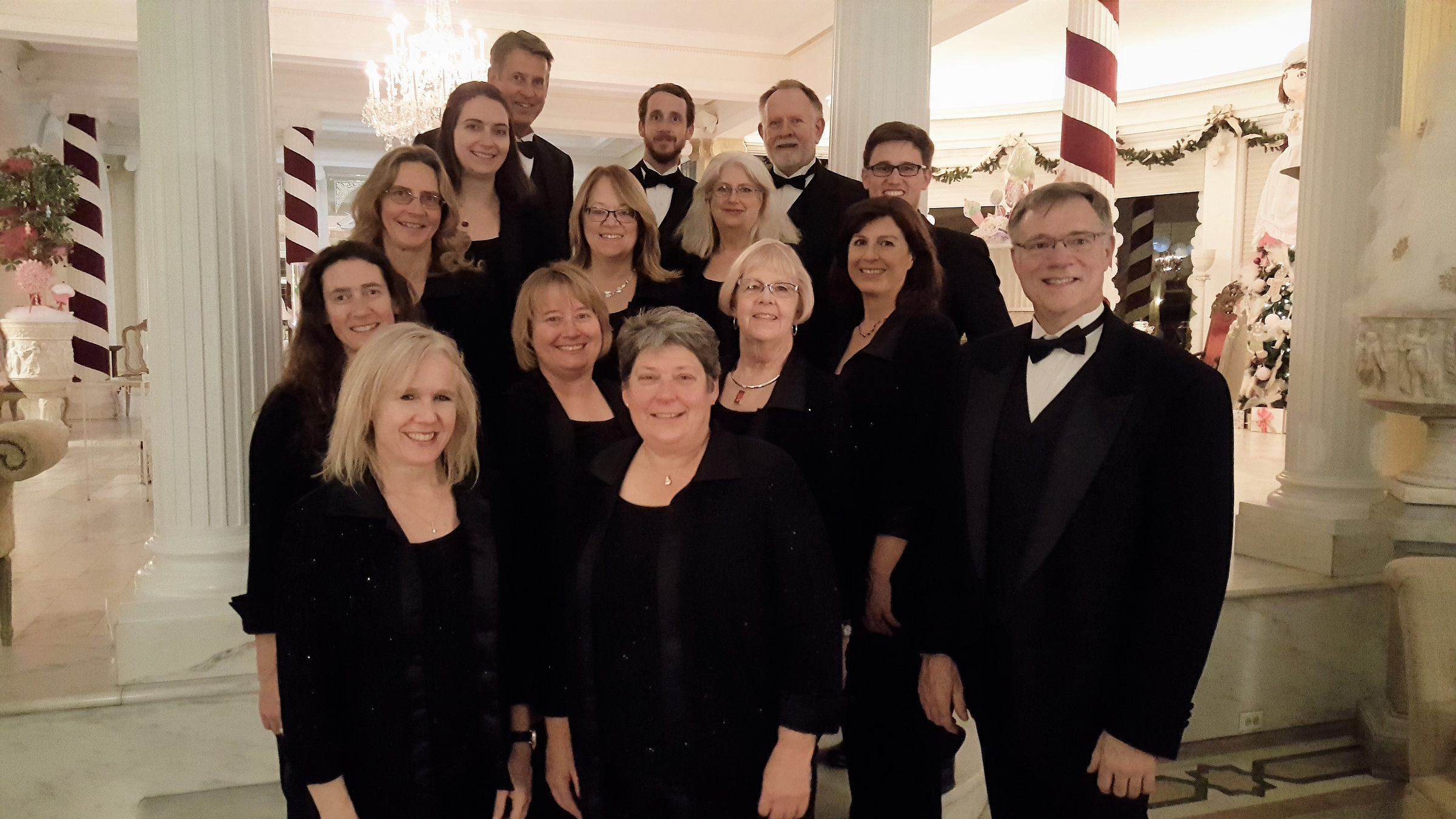 Rocky Mountain Ringers Perform for Holiday Gathering at the Governor's Residence 2017